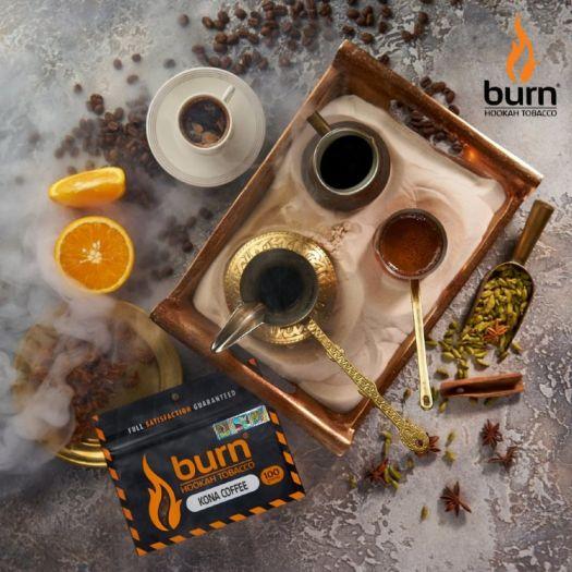 Табак Burn - Kona Coffee (кофе с экзотическими фруктами) 100гр