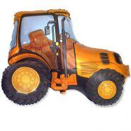 """Трактор (оранжевый),  37""""/74*94 см"""