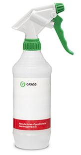Бутылка с профессиональным триггером (синяя, красная, зеленая) 500мл GRASS