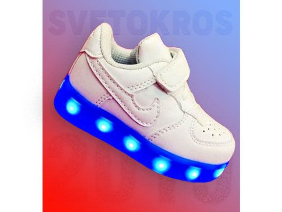 Светящиеся кроссовки 21