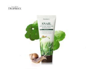 Deoproce Snail Recovery Moisture Hand & Foot 100ml - улиточный крем для рук и ног