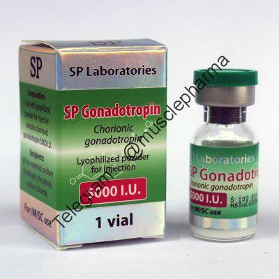 """Гонадотропин """"SP Gonadotropin"""" (1 флакон 5000 ед)"""