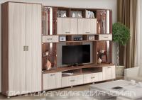 Гостиная Аллегро вариант-4 со шкафом