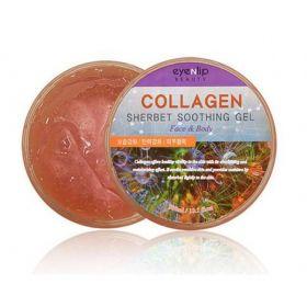 EYENLIP Collagen Sherbet Soothing Gel Face & Body 300ml - Успокаивающий гель-щербет с коллагеном для лица и тела