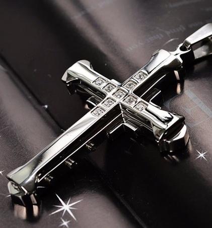 Нательный крест ZWY-0282St-AL