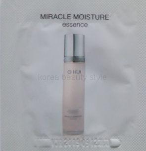 O HUI Miracle moisture  essence ( sample) -  увлажняющая эссенция от O HUI ( пробник- 1 мл)