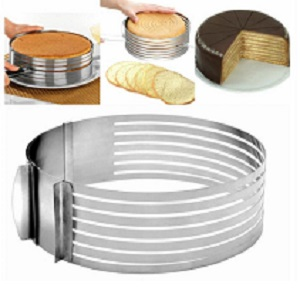 Форма-слайсер для нарезки Коржей Cake Slicing Tool, 15-20 см