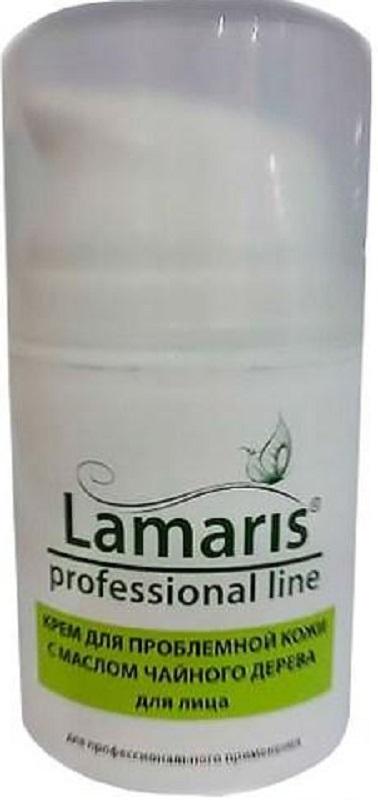 Lamaris Крем для проблемной кожи с маслом чайного дерева, 50 мл