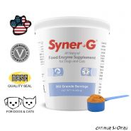 Syner-G Digestive Enzymes 454 гр. (363 дозы) - пищеварительные ферменты для домашних животных