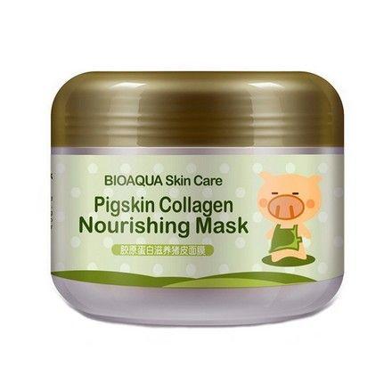 Bioaqua collagen маска для лица