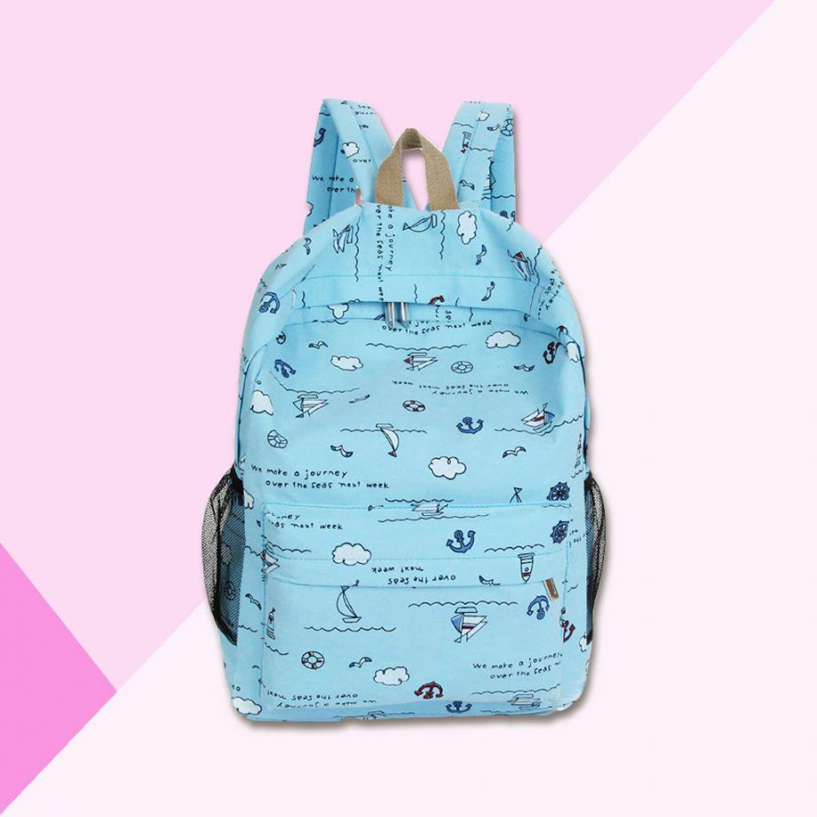 Рюкзак Морской (голубой)
