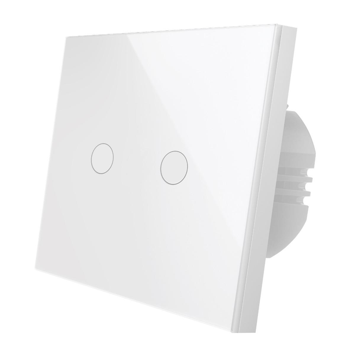 Wi-Fi выключатель двухканальный