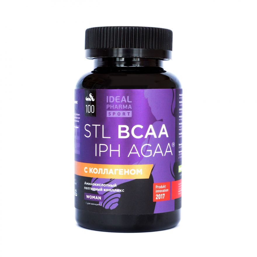 BCAA Collagen IPH AGAA Woman (Sport's Technologies Laboratory) 100 капс