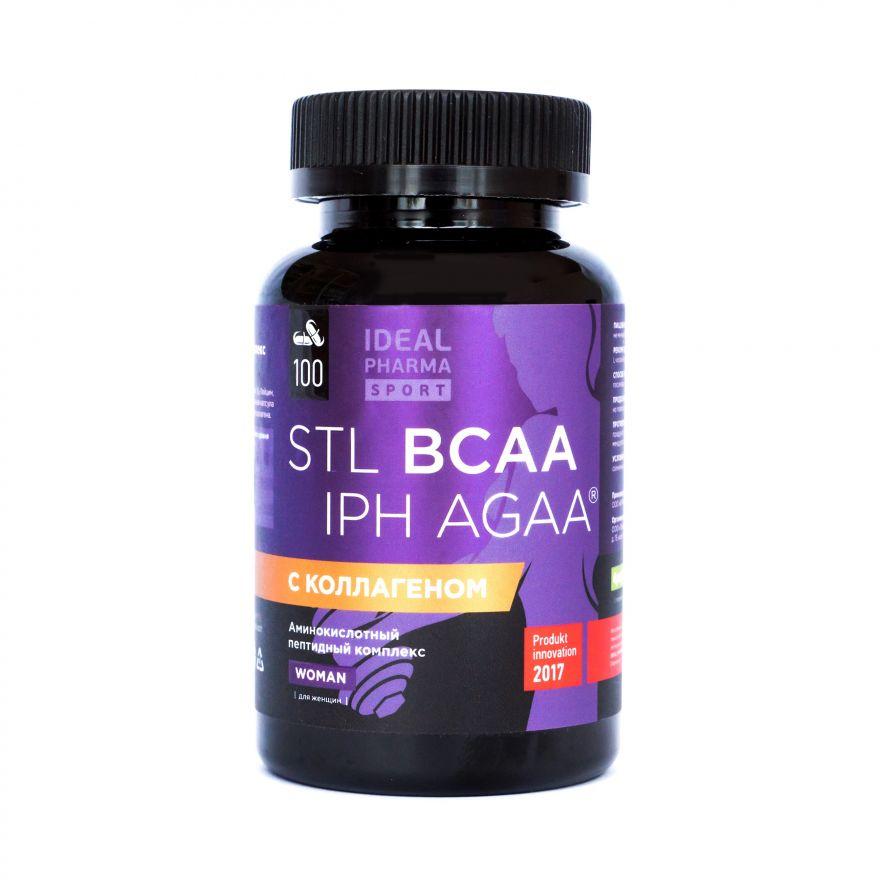 BCAA Collagen IPH AGAA Woman (Sport's Technologies Laboratory) 100 капс