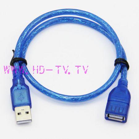 кабель удлинитель USB 1,5 метра ( 2.0 )