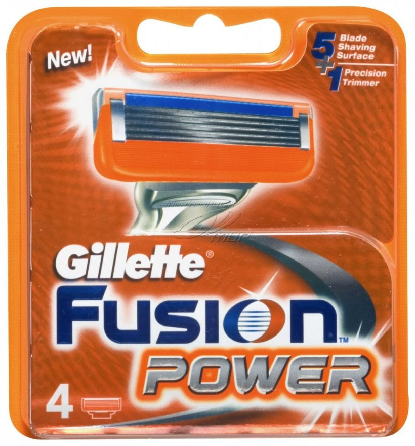 116* 4шт. Gillette Fusion Power сменные кассеты (4 шт)
