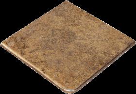 Ступень угловая Exagres Metalica Cartabon Fior. Mustard 33×33.5