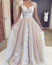 """Свадебное платье """"Божоли"""" NN"""