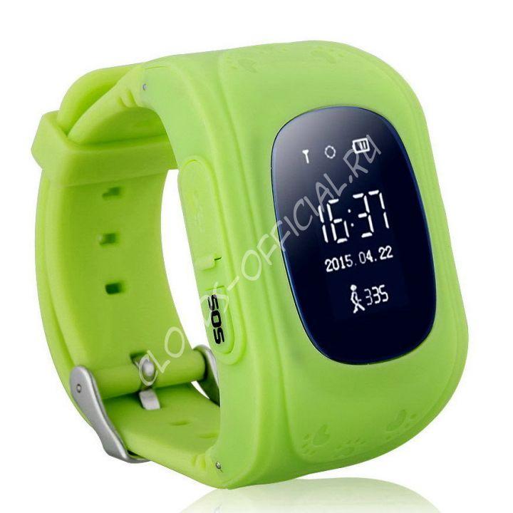 Детские часы с GPS Bravika Kids (green)