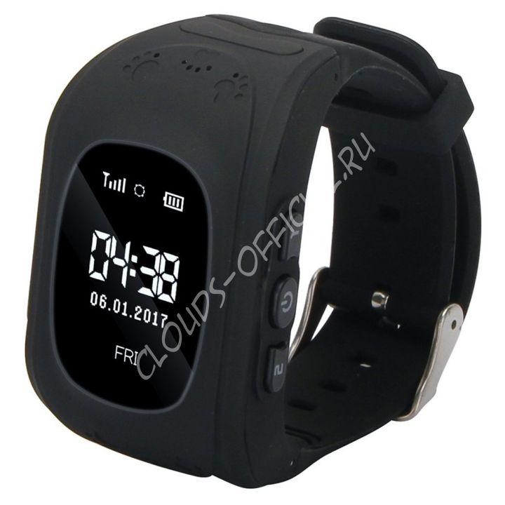Детские часы с GPS Bravika Kids (black)