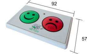Беcпроводной пульт 2 кнопки