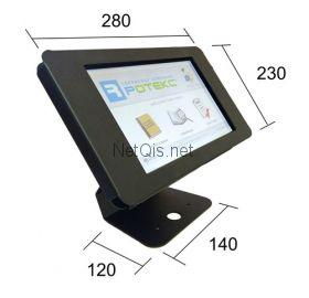 Интерактивный планшет 10'' (ОС Android) в защитном кожухе с кронштейном