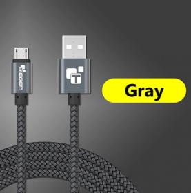 USB - кабель (USB - microUSB) 2м черный
