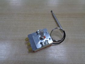 Терморегулятор для водонагревателей 0-95 С 3 конт.16А, дл.капил - 80см, вал-2,5 см