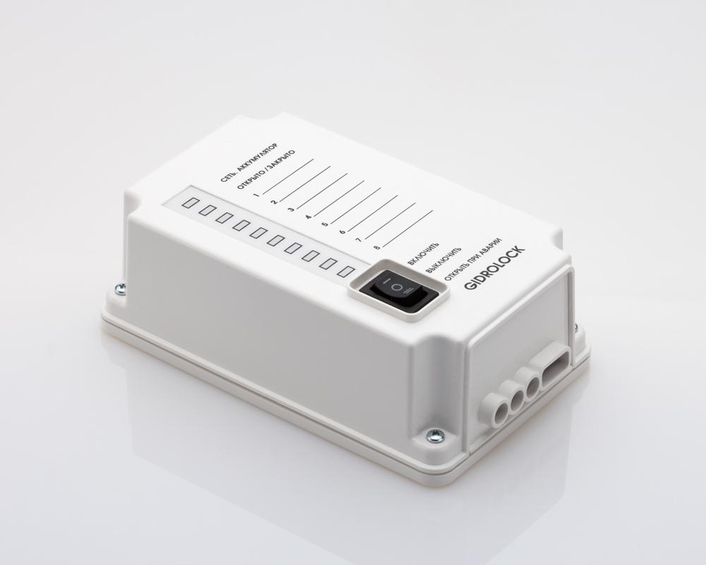 Блок управления GIDROLOCK PREMIUM (с крепежом) без АКБ