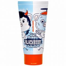 Elizavecca Hell-Pore Bubble Blackboom Pore Pack 150ml - кислородная маска для очищения пор