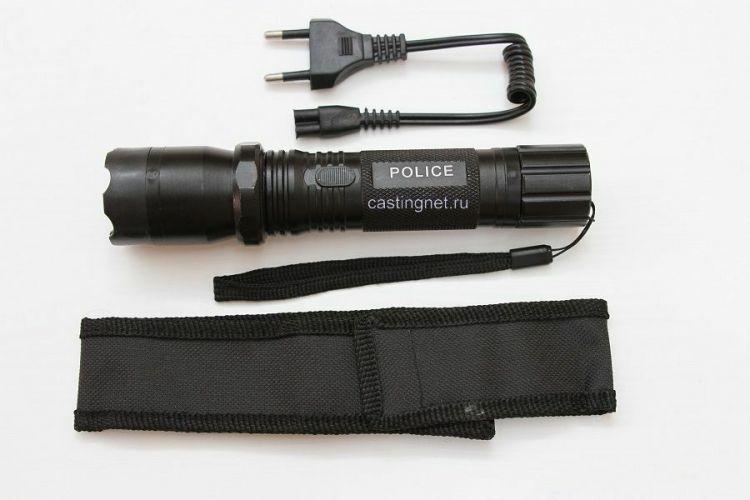 Мощьный фонарь ЭЛЕКТРОШОКЕР POLICE -1101