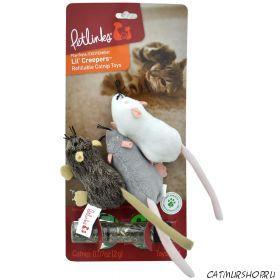 Petlinks Lil' Creepers Refillable Catnip игрушка для кошек с кошачьей мятой