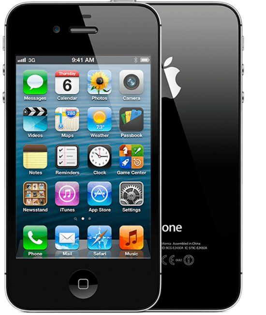 Apple iPhone 4 16GB черный