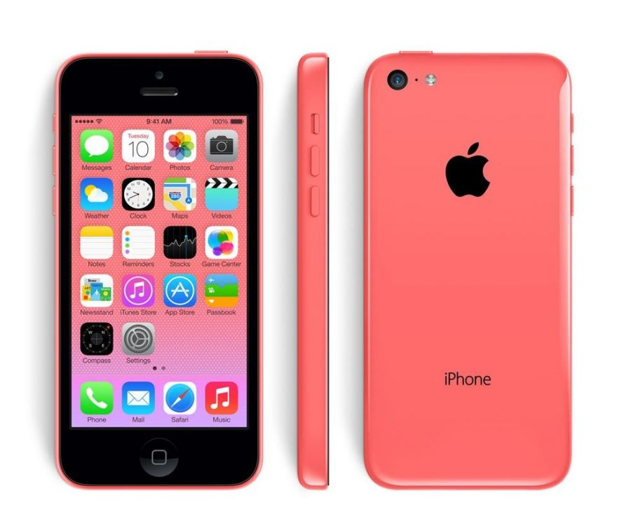 Apple iPhone 5C 32GB розовый