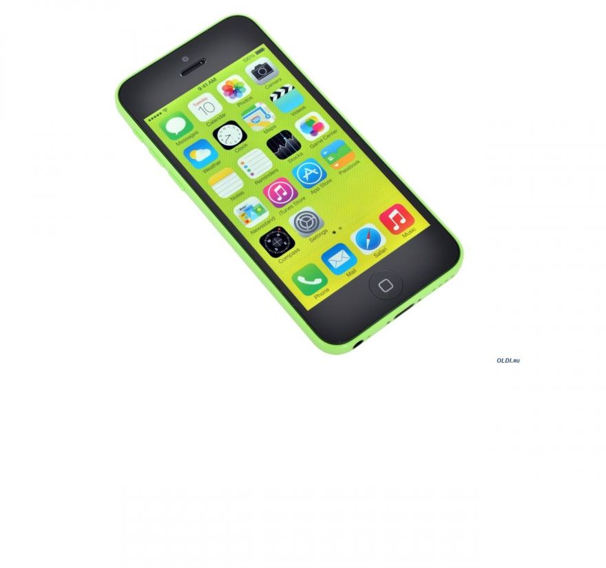 Apple iPhone 5C 32GB зеленый