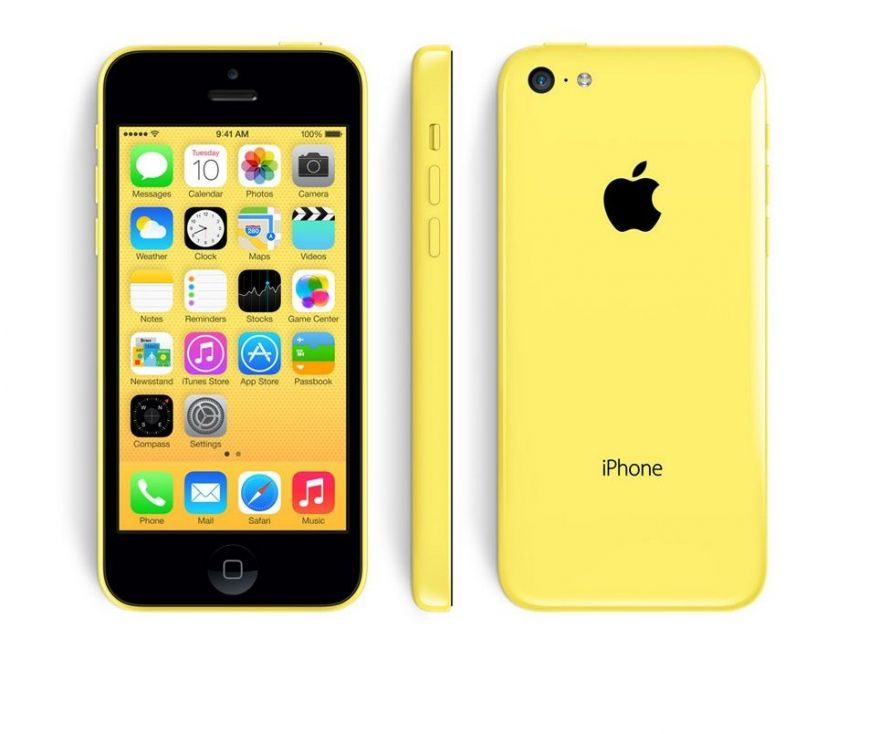Apple iPhone 5C 32GB желтый