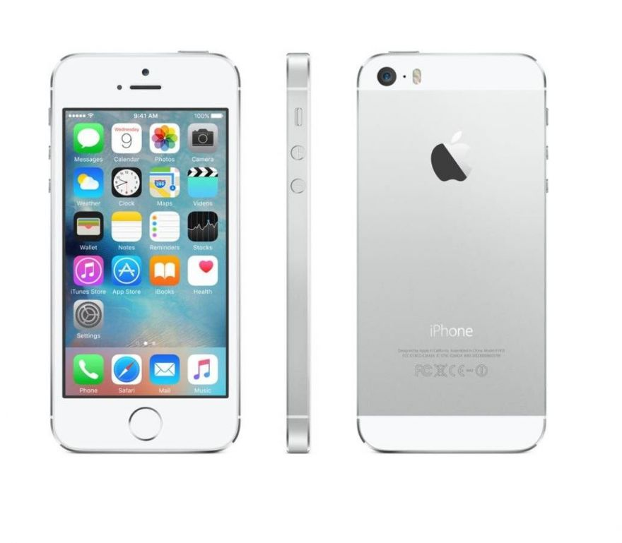 Apple iPhone 5S 64GB серебристый