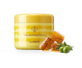 THE SAEM Care Plus Manuka Honey Cream 100ml - Крем с мёдом манука