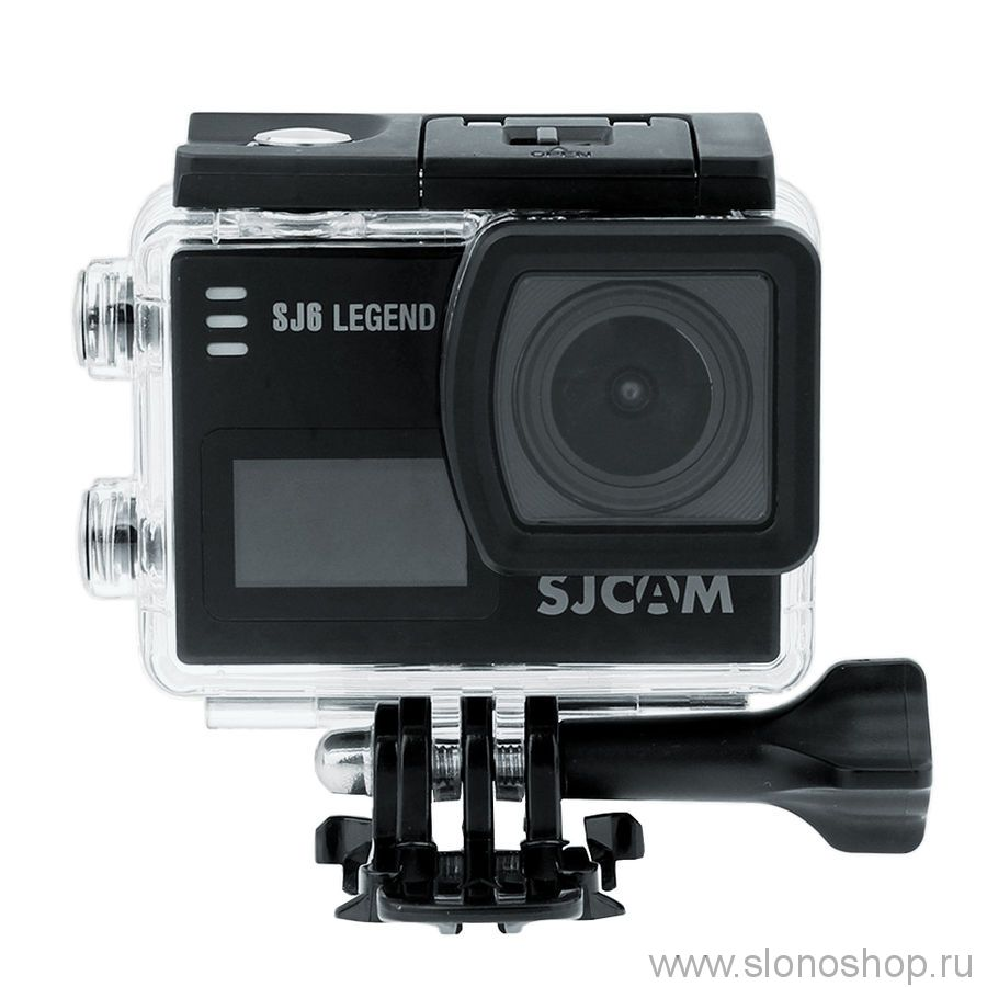 Экшн-камера Sjcam SJ6 Legend 4K, WiFi, черный