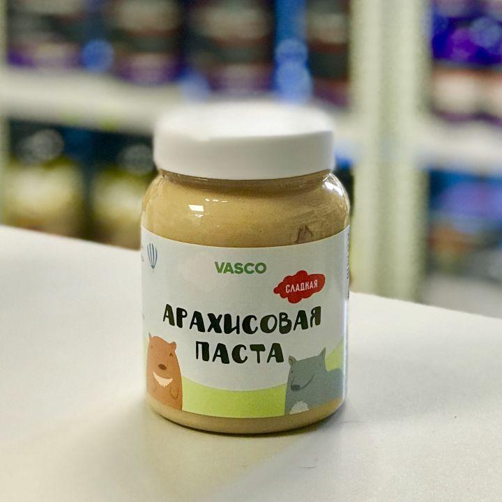 Vasco - Арахисовая паста сладкая (320 г)
