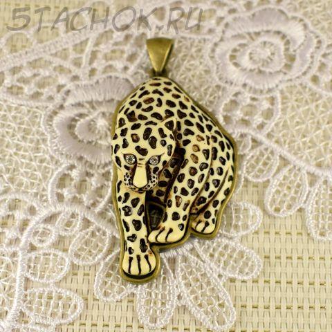 """Кулон """"Леопард"""" (США)"""