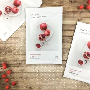 Innisfree - My Real Squeeze mask pomegranate