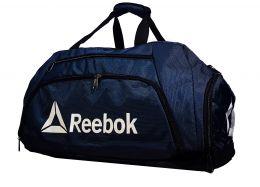 Спортивная сумка-рюкзак Reebok с отделом для обуви цвет синий