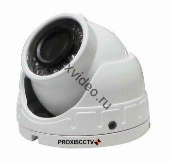 мини Антивандальная (5Mp ) 4 в 1 видеокамера PX-AHD-SS10-H50K