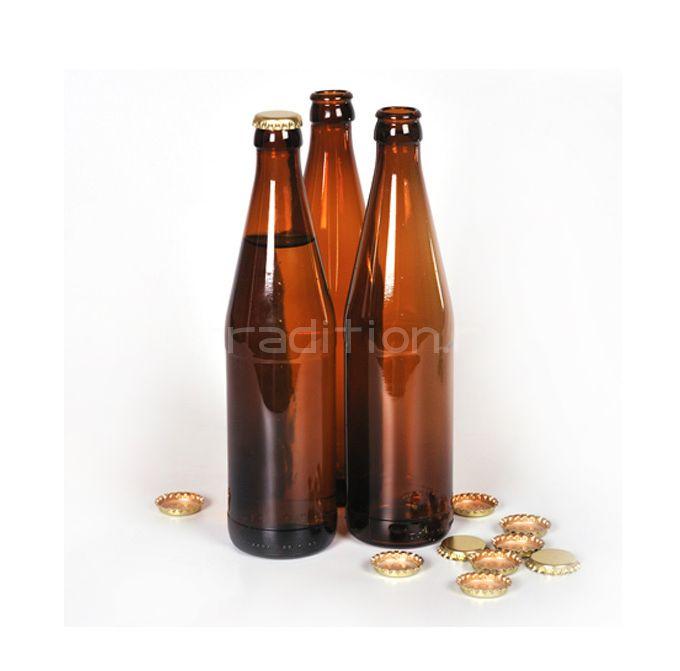 Бутылка под пиво 0,5 л., 16 шт