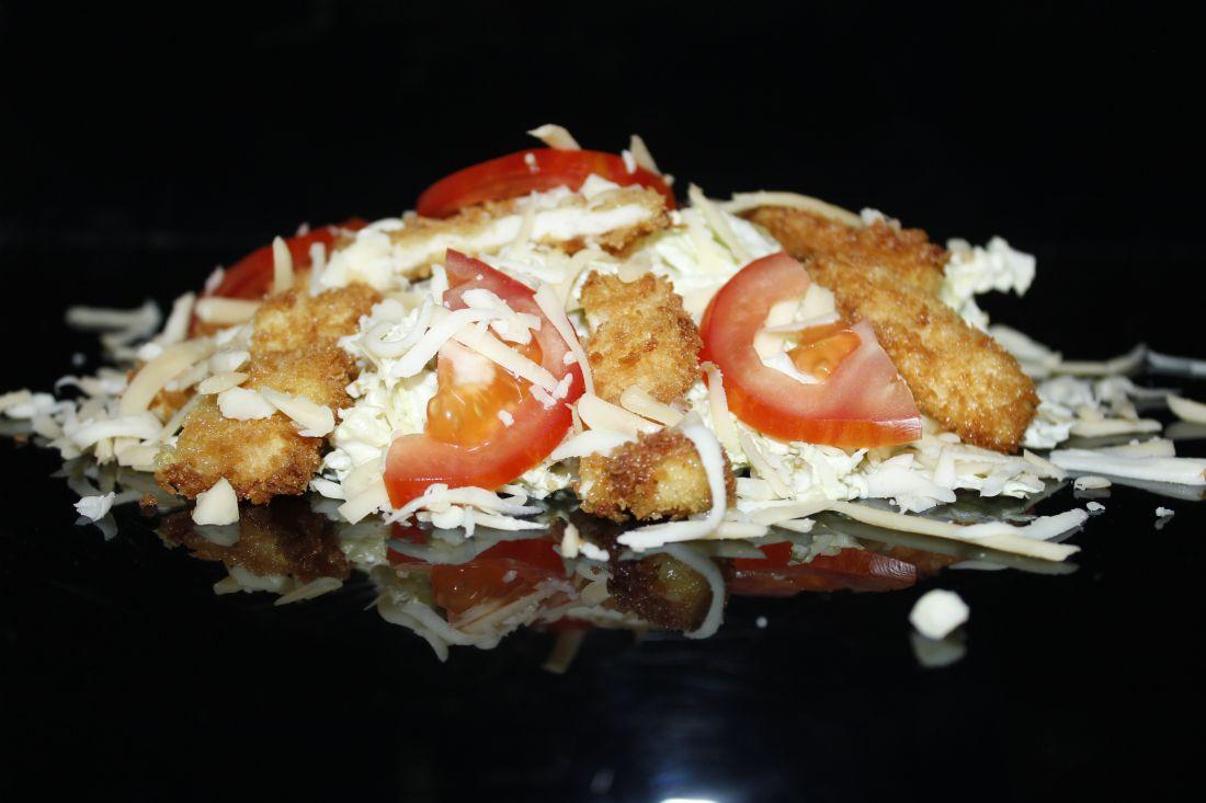 тар-тар с цыпленком