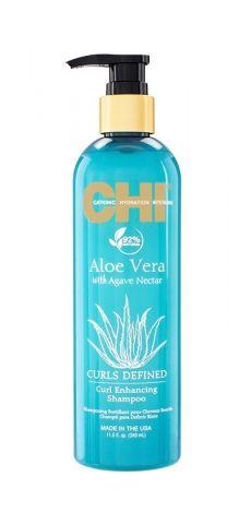 Шампунь для сухих и вьющихся волос CHI Aloe Vera with Agave Nectar 340 мл