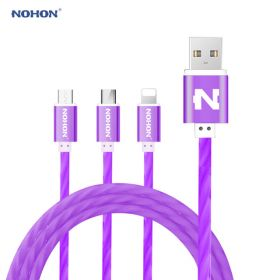 Кабель 3 в 1 USB - Type-C/Micro USB/Lighting