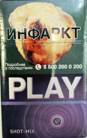 Сигареты Play Shot Mix