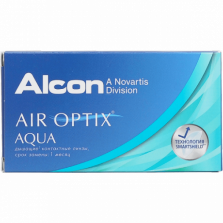 Air Optix  Aqua 3 pk.